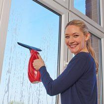 Magnet 3Pagen Bezkáblový čistič okien, červená