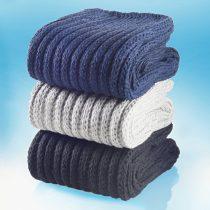 Magnet 3Pagen 3 páry pohodlných ponožiek nám.modrá+sivá+čierna 35-38