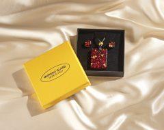 Magnet 3Pagen 3-dielna súprava šperkov z muránskeho skla
