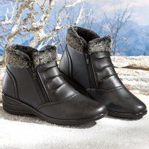 """Magnet 3Pagen Členkové topánky """"Marta"""" čierna 36"""