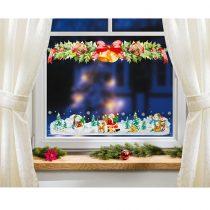 """Magnet 3Pagen Obraz na okno """"Girlanda z ihličia"""""""