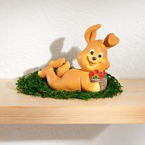 Magnet 3Pagen Zajačik s kvetinovým košom