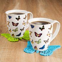 """Magnet 3Pagen 1 šálka na kávu """"Motýle"""""""