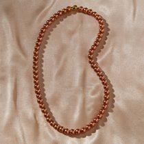 Magnet 3Pagen Perlový náhrdelník zlatá farba dĺžka 60cm