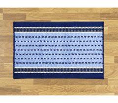 Magnet 3Pagen Kuchynský koberec modro-biela 50x80cm