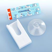Magnet 3Pagen Kúzelný držiak s prísavkou Niki Fix, biela