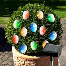 """Magnet 3Pagen Solárna svetelná reťaz """"Pestrofarebné vajíčka"""""""