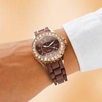 Magnet 3Pagen Dámske náramkové hodinky, medená