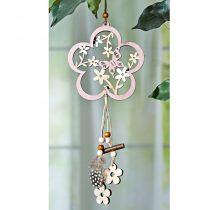 Magnet 3Pagen Závesná dekorácia kvetina s motýľom kvetina s motýlom