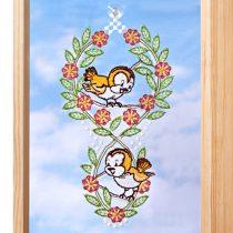 """Magnet 3Pagen Závesná textilná dekorácia """"Párik vtáčikov"""" párik vtáčikov"""