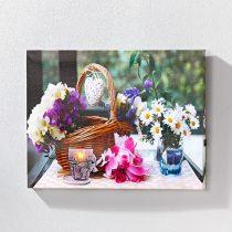 """Magnet 3Pagen LED obraz """"Kvetiny"""""""