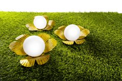 "Magnet 3Pagen Solárne svetlo ""Zlatistý kvet"""