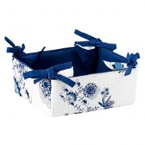 Magnet 3Pagen Košík na pečivo alebo sladkosti modrobiela 18x18x8cm