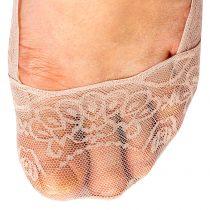 Magnet 3Pagen Čipkované ponožky do balerín ružová/biela/ružová 36-41