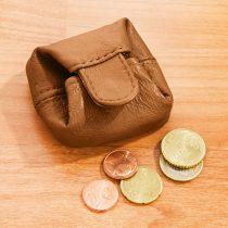 Magnet 3Pagen Peňaženka na mince koňaková