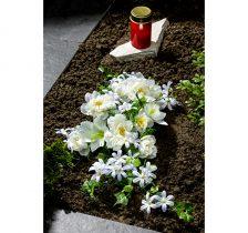 Magnet 3Pagen Kytice na hrob Biele kvety