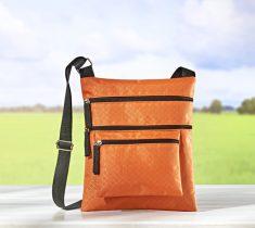 Magnet 3Pagen Taška cez rameno oranžová