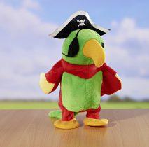"""Magnet 3Pagen Hovoriaci papagáj """"Pirát Jack"""""""