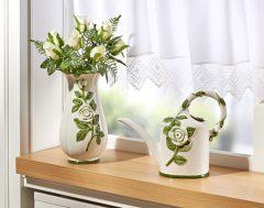 "Magnet 3Pagen Váza ""Biele ruže"" 27 cm výška"
