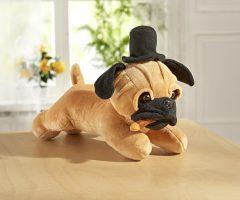 Magnet 3Pagen Spievajúci pes s klobúkom