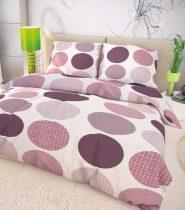Magnet 3Pagen Bavlnená postelná bielizen Ava fialová fialová/biela obliečka na vankúšik 40x40cm