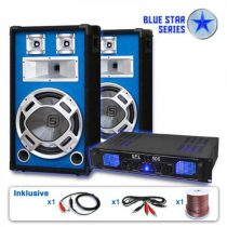 "Electronic-Star Reproduktorový set Blue Star Series ""Basskick"", 1600 W"