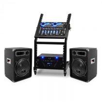 Ibiza DJ reproduktorový set Rack Star Uranus Blues 100 ľudí