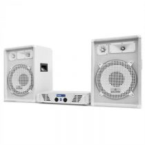 "Electronic-Star DJ PA set""Arctic Winter"" zo série White star s výkonom 1200W"