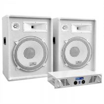 "Electronic-Star DJ PA set ""Arctic Frost"" z ""White Star Series"", 1600 W"