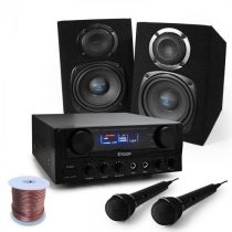 "Electronic-Star Karaoké set ""Pony´sRanch"" s reproduktormi, mikrofónom, 400W"