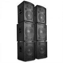 Malone Pharos, DJ/PA 6-dielny set aktívnych reproduktorov, 7200W