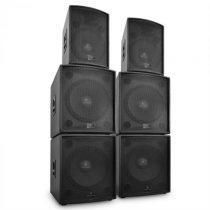 """Malone """"Phidias"""", DJ PA set reproduktorov, 6 dielov 12 000 W"""