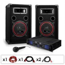 Electronic-Star Ozvučovací set DJ-14, zosilňovač, reproduktory, 1000 W