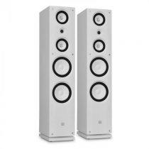 Dvojica HiFi reproduktorov Koda 858F, biele, 100W RMS