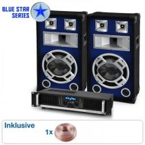 "Electronic-Star PA sada Blue Star Series ""Beatbass II"" 1200 W"