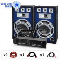 """Electronic-Star DJ PA set Blue Star Series """"Beatmix"""", 1600 W"""