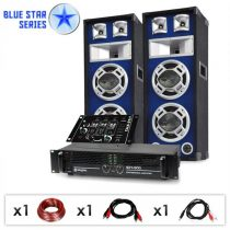 "Electronic-Star DJ PA set Blue Star Series ""Beatmix"", 1200 W"