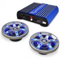 Electronic-Star BeatPilot FX-201, auto HiFi set, reproduktory, zosilňovač