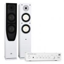 Koda Hi-fi domáce kino KODA White - zosilňovač + reproduktory