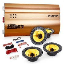 "Auna 4.0 auto hifi set ""Golden Race V4"""