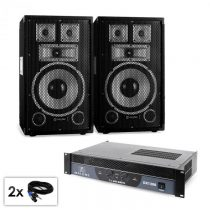 "Electronic-Star PA set série Saphir ""Warm Up Party TX10"", dva 25 cm reproduktory a..."