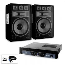"Electronic-Star PA set série Saphir ""Warm Up Party TX15"", dva 38 cm reproduktory a..."