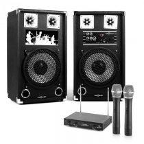 "Electronic-Star Karaoke Set ""STAR-10A"" PA reproduktory, bezdrôtový mikrofón, 600W"