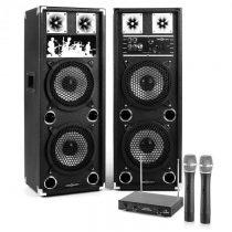 "Electronic-Star Karaoke Set ""STAR-28A"" PA reproduktory, bezdrôtový mikrofón, 800W"