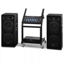 Electronic-Star Rack Star Series Mars Flash, DJ PA sada, bluetooth