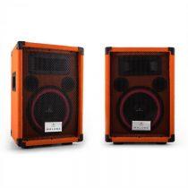 """Malone Beatamine-C, pár PA reproduktorov, 20 cm, 8"""", 150 W RMS, 300 W max., oranžový"""