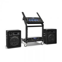 Electronic-Star Pluto Gravity, DJ PA set, rad Rack Star, bluetooth, 200 osôb