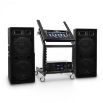 "Electronic-Star DJ PA sada Rack Star Series ""Mars Flash Bluetooth"", bluetooth"