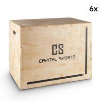 """Capital Sports Shineater BL, set plyoboxov, boxy na skákanie, 3 výšky 20"""", 24"""", 30..."""
