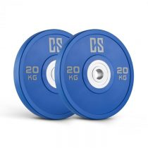 Capital Sports Performan Urethane Plates, modré, 20 kg, pár kotúčových závaží